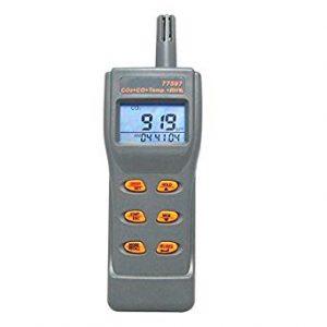 AZ Instrument 77597 Portable CO2, CO, Temp. RH Meter