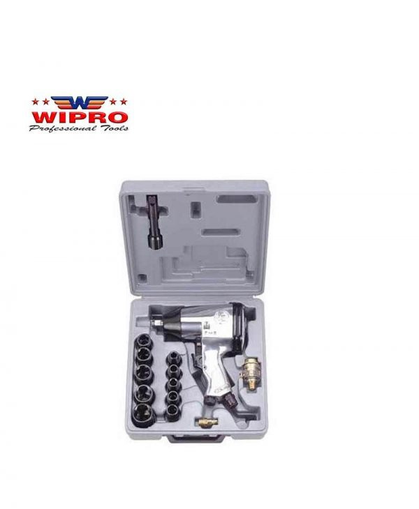 WIPRO RP-7808 Air Impact Wrench Kit Set 1/2 inch