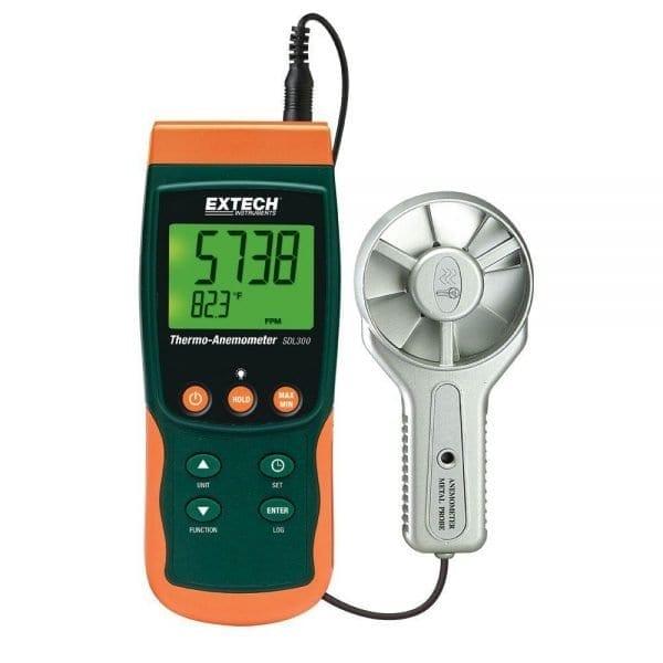 EXTECH SDL300 Portable Anemometer