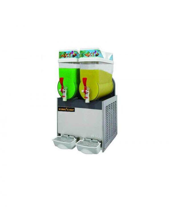 KING CHEF XRJ15-2 Mesin Slush European-Style Plug (220V-50Hz-1Ph)/Pembuat Es Salju