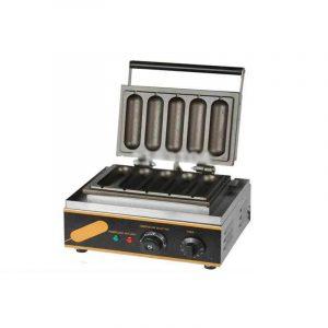 KING CHEF FY-5 Mesin Electric Hot Dog Baker/Pemanggang Kue Hod Dog