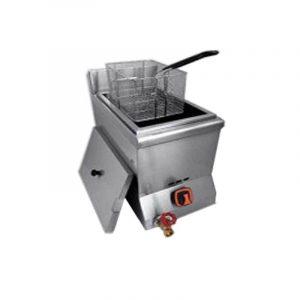 KING CHEF HY-77 Mesin Deep Gas Fryer (1 Tanks 1 Baskets)/Penggoreng Kentang 1 Tangki