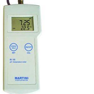 MILWAUKEE Mi105 Portable pH/Temperature Meter
