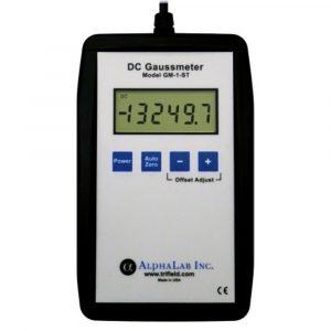 ALPHALAB GM1-ST Portable Digital Gauss Meter