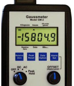 ALPHALAB GM2 Portable Digital Gauss Meter