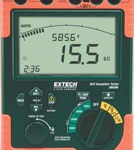 EXTECH 380395 High Voltage Digital Insulation Tester