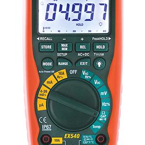 EXTECH EX542 True RMS Industrial Multimeter