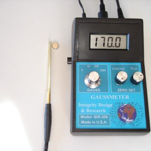 IDR309-T-A DC Gaussmeter with Transverse & Axial Probe