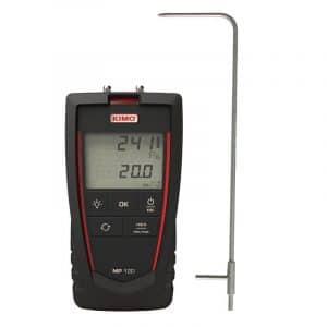KIMO MP120 Manometer With Air Velocity Measurement