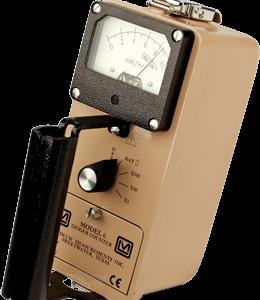 LUDLUM Model 6 Gamma Exposure Ratemeter