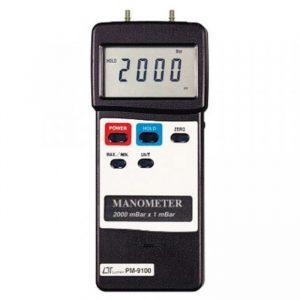 LUTRON PM9100 Digital Portable Manometer 2000 mBar