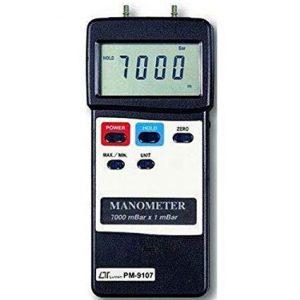 LUTRON PM9107 Digital Portable Manometer 7000 mBar