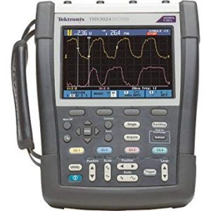 TEKTRONIX THS3024-TK 200MHz Handheld Oscilloscope with Travel Kit