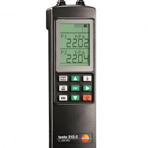 TESTO 312-2 Precision Digital Manometer