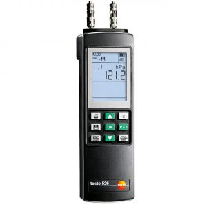 TESTO 526-2 Differential Pressure Meter
