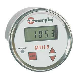 MURPHY MTH6 Digital Tachometer and Hourmeter