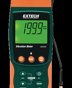 EXTECH SDL800 Portable Vibration Meter Data Logger