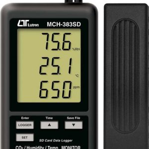 LUTRON MCH 383SD CO2/ Humidity/ Temperature Monitor