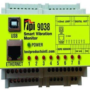 TPI 9038 Smart Vibration Monitor – 8 Channel