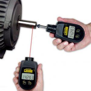 CHECKLINE PLT5000 Combination Contact/ Non-Contact Tachometer
