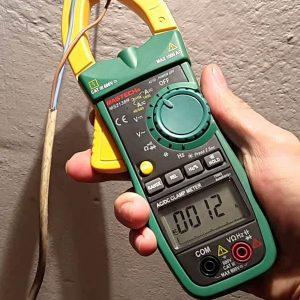 Clamp Multimeter AC/DC Mastech MS2138R