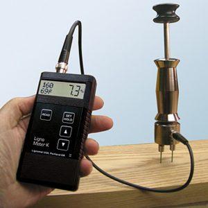 LIGNOMAT Type K Moisture Meter w/ Hammer