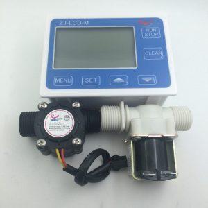 Water Flow Control + Flow Sensor + Solenoid Valve