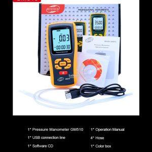 Digital Manometer Benetech GM520