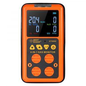 Multi Gas Monitor Smart Sensor ST8900 4 in 1 Detector