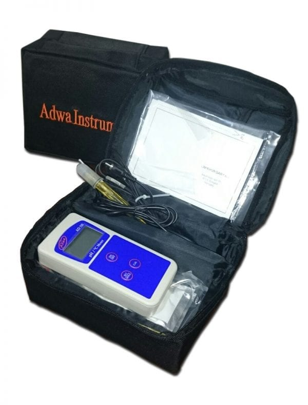 PH METER PORTABLE AD-110 ADWA INSTRUMENTS