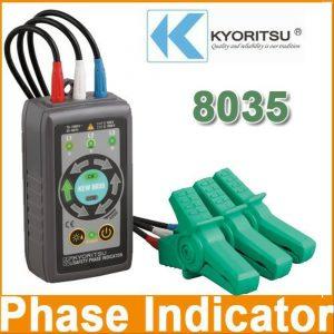 Kyoritsu 8035 Phase Rotation