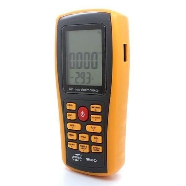 Benetech GM8902 Anemometer Data Logger USB