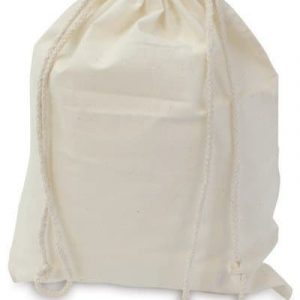 CALICO BAGS – Sample Bag Calico with Drawstring