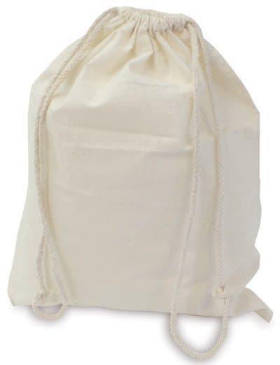CALICO BAGS – Sample Bag Calico with Drawstring