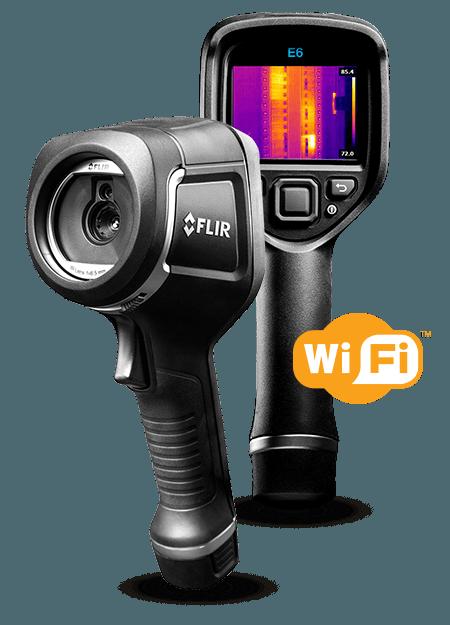 Flir E6 with WiFi (NEW MODEL) Thermal Imaging Camera