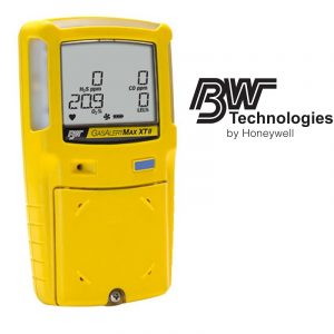 Honeywell BW Max XT II Multi-Gas Detector H2S CO O2 LEL with Pump