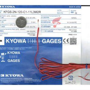 Kyowa KFGS-2N-120-C1-11 L3M2R Strain Gauge
