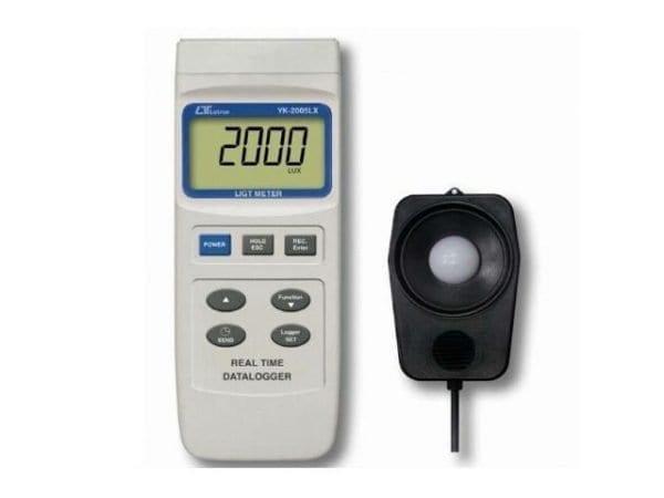 Lutron YK-2005LX Light Meter Real Time Data Logger / Lux Meter