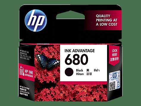 HP 680 Tinta Cartridge - Black