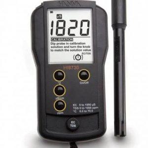Hanna HI8730 Portable EC-TDS & Temperature Meter