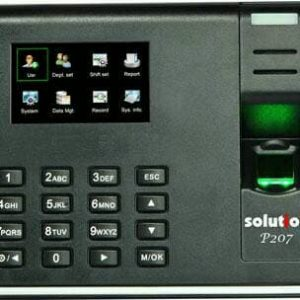 Solution P207 Mesin Absensi Finger Print