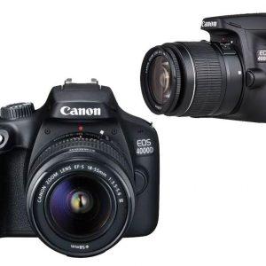 Canon EOS 4000D MARK III LENS 18-55 Kamera DSLR