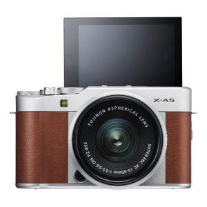 Fujifilm X-A5 KIT 15-45 mm Kamera Mirrorless - Brown