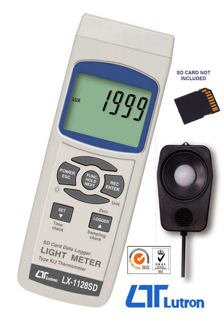 LUTRON LX-1128SD Digital Lux Meter